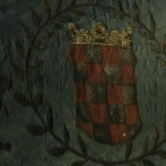 Coronation flag of the Croatian kingdom 1618.